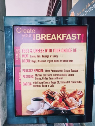create your own breakfast