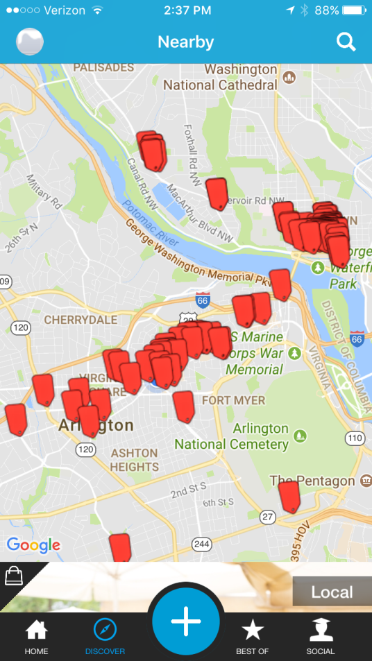IDeals Arlington Map